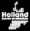 Logo Holland boven Amsterdam